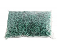 Rubber Bands OFFICE PRODUCTS, diameter 25mm, 1,5x1,5mm, 1000g, green