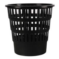 Kosz na śmieci OFFICE PRODUCTS, ażurowy, 16l, czarny, Kosze plastik, Wyposażenie biura