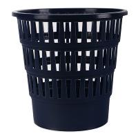 Kosz na śmieci OFFICE PRODUCTS, ażurowy, 16l, granatowy, Kosze plastik, Wyposażenie biura