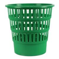 Kosz na śmieci OFFICE PRODUCTS, ażurowy, 16l, zielony, Kosze plastik, Wyposażenie biura