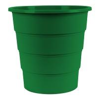Kosz na śmieci OFFICE PRODUCTS, pełny, 16l, zielony, Kosze plastik, Wyposażenie biura
