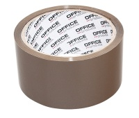 Packing Tapes OFFICE PRODUCTS, Hot Melt, 48 mm, 50 y, 45 micr., brown