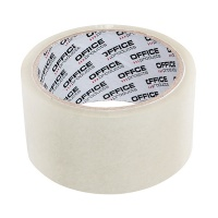 Packing Tapes OFFICE PRODUCTS, Hot Melt, 48 mm, 50 y, 45 micr., transparent
