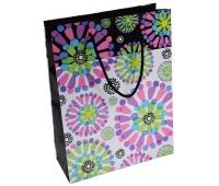 Torebka na prezenty OFFICE PRODUCTS, laminowana, 24x10x32cm, całoroczna, mix wzorów, Produkty kreatywne, Artykuły szkolne