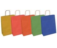 Torebka na prezenty OFFICE PRODUCTS, papierowa, 24x10x32cm, jednolita, całoroczna, mix wzorów, Produkty kreatywne, Artykuły szkolne