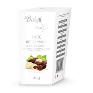 Mieszanka rodzynek w czekoladzie BAKAL Sweet, 150g, Przekąski, Artykuły spożywcze