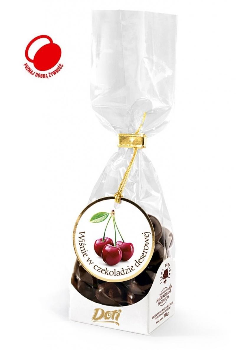 Wiśnie w czekoladzie 100g, Przekąski, Artykuły spożywcze