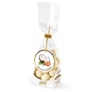 Migdały w białej czekoladzie z kokosem 100g, Przekąski, Artykuły spożywcze