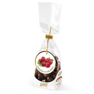 Żurawina w czekoladzie 100g, Przekąski, Artykuły spożywcze