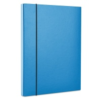 Elasticated File Box OFFICE PRODUCTS, PP, A4/40, blue