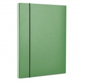 Elasticated File Box OFFICE PRODUCTS, PP, A4/40, green