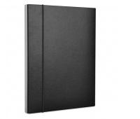 Teczka-pudełko z gumką OFFICE PRODUCTS, PP, A4/30, czarna, Teczki przestrzenne, Archiwizacja dokumentów