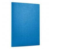 Teczka z rzepem OFFICE PRODUCTS, PP, A4/1,5cm, 3-skrz., niebieska, Teczki przestrzenne, Archiwizacja dokumentów