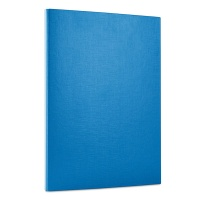 File, velcro fastening, OFFICE PRODUCTS, PP, A4/1.5cm, 3 flaps, blue