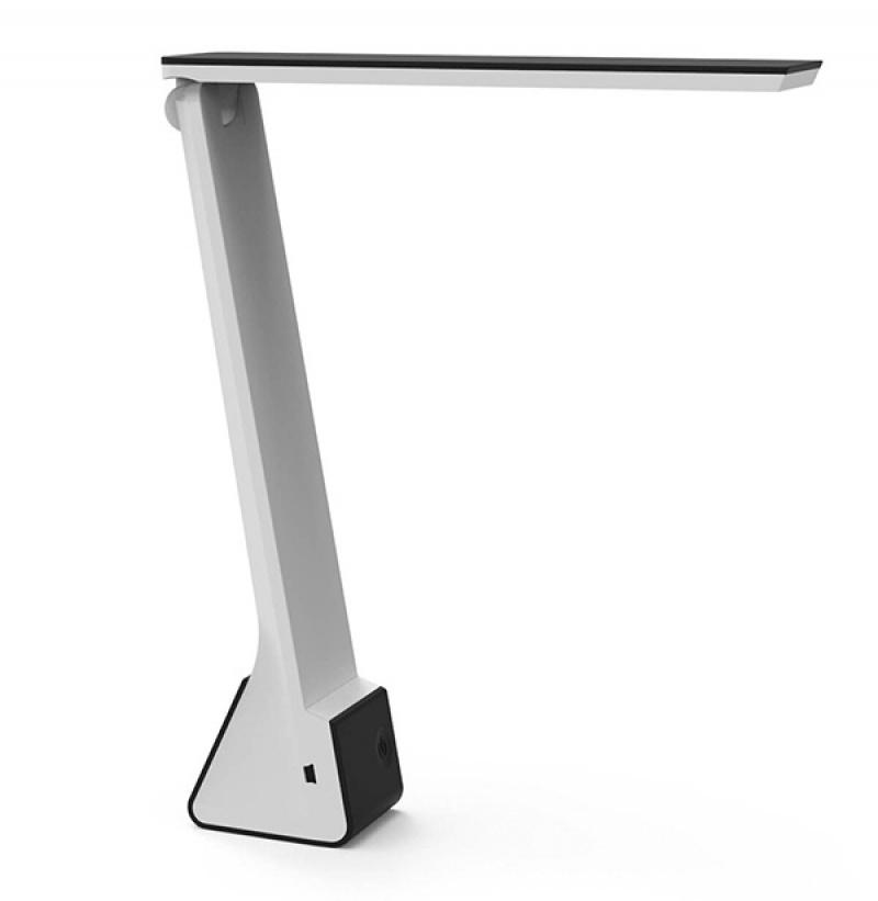 Lampka LED na biurko MAULseven, 4W, składana, czarna, Lampki, Urządzenia i maszyny biurowe