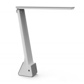 Lampka LED na biurko MAULseven, 4W, składana, szara, Lampki, Urządzenia i maszyny biurowe