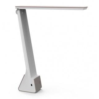 Lampka LED na biurko MAULseven, 4W, składana, beżowa, Lampki, Urządzenia i maszyny biurowe