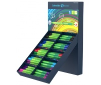 Display cienkopisów i flamastrów SCHNEIDER Link-It, 50szt.+50szt., mix kolorów, Cienkopisy, pióra kulkowe, Artykuły do pisania i korygowania