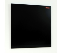 TABLICA SZKLANA MAGNETYCZNA 900X600MM MEMOBOARDS CZARNA, Tablice magnetyczno-tekstylne, Prezentacja
