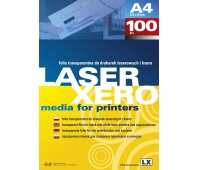 Samoprzylepna folia do drukarek laserowych przezroczysta błysk op./10szt., Folie samoprzylepne, Papier i etykiety
