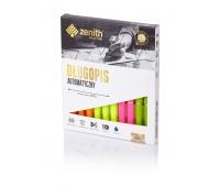 Długopis automatyczny Zenith 7 Fluo - box 10 sztuk mix kolorów, Długopisy, Artykuły do pisania i korygowania