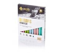 Długopis automatyczny Zenith 7 Pastel - box 10 sztuk mix kolorów, Długopisy, Artykuły do pisania i korygowania