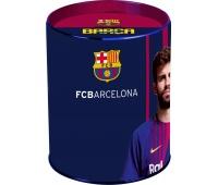 Skarbonka metalowa FC-204 FC Barcelona Barca Fan 6, Nietypowe, Artykuły szkolne