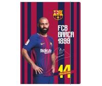 Teczka z gumką A4 FC Barcelona Barca Fan 6, Teczki płaskie, Archiwizacja dokumentów