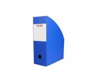 Pojemnik na dokumenty 10 cm niebieski, Pojemniki na dokumenty i czasopisma, Archiwizacja dokumentów