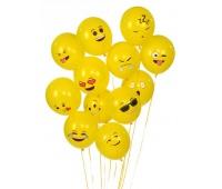 Balony Emoty Party Fiorello, Balony, Artykuły dekoracyjne