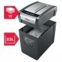 Niszczarka Rexel Momentum X312-SL Slimline, konfetti, P-3, 12 kart., 23l, czarna, Niszczarki, Urządzenia i maszyny biurowe