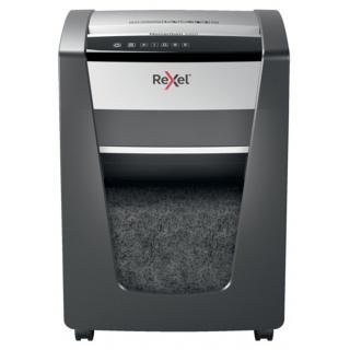 Niszczarka Rexel Momentum X420, konfetti, P-4, 20 kart., 30l, czarna, Niszczarki, Urządzenia i maszyny biurowe