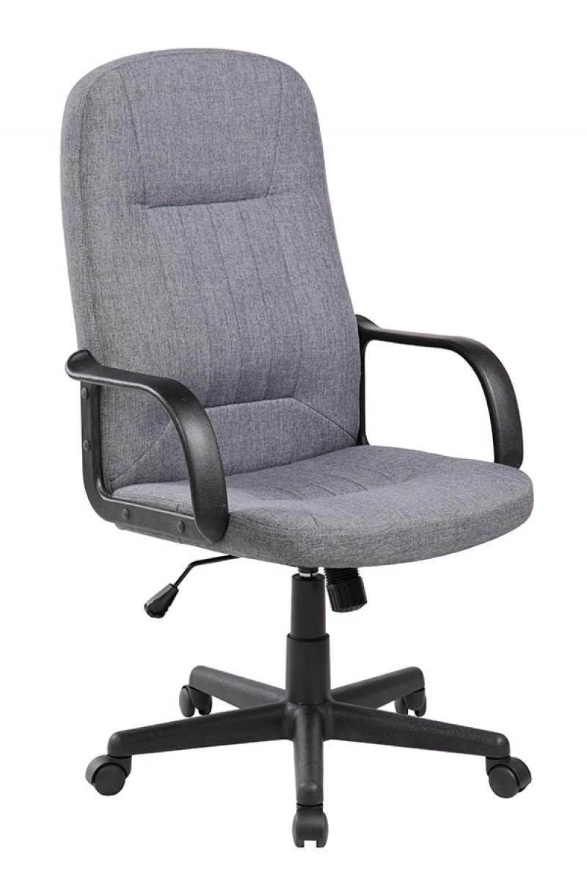Fotel biurowy OFFICE PRODUCTS Malta, szary, Krzesła i fotele, Wyposażenie biura