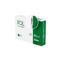 Papier kserograficzny IP POL JET, A4, klasa A, 166CIE, 80gsm, 500ark., Papier do kopiarek, Papier i etykiety