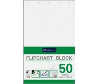 Blok do flipchartów 100x64 cm 50 gładki, Bloki, magnesy, gąbki, spraye do tablic, Prezentacja