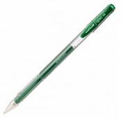 Długopis żelowy UM-100, zielony, Uni, Żelopisy, Artykuły do pisania i korygowania
