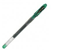Długopis żelowy UM-120, zielony, Uni, Żelopisy, Artykuły do pisania i korygowania