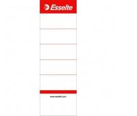 Wymienne etykiety grzbietowe do segregatorów Esselte, Biały, Etykiety opisowe, Papier i etykiety