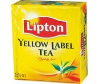 HERBATA LIPTON YELLOW 100 SZT., Herbata, kawa, Artykuły spożywcze