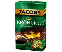 KAWA MIELONA JACOBS KRONUNG 500G, Herbata, kawa, Artykuły spożywcze
