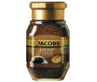 KAWA ROZPUSZCZALNA JACOBS CRONAT GOLD 200 G, Herbata, kawa, Artykuły spożywcze
