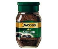 KAWA ROZPUSZCZALNA JACOBS KRONUNG 200GR, Herbata, kawa, Artykuły spożywcze