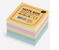 Kostka papierowa kolorowa 85x85x35 mm nieklejona, Kostki, Papier i etykiety