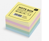 Kostka papierowa kolorowa 85x85x70 mm nieklejona, Kostki, Papier i etykiety
