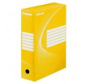 Pudło archiwizacyjne Esselte Standard, 100 mm, Żółty, Pudła archiwizacyjne, Archiwizacja dokumentów