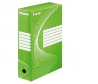 Pudło archiwizacyjne Esselte Standard, 100 mm, Zielony, Pudła archiwizacyjne, Archiwizacja dokumentów