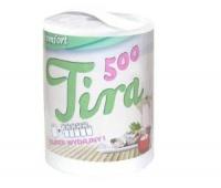 RĘCZNIK PAPIEROWY TIRA 500 BIAŁY, Ręczniki papierowe i dozowniki, Artykuły higieniczne i dozowniki