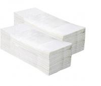 RĘCZNIK Z-Z STANDARD BIAŁY 4000, Ręczniki papierowe i dozowniki, Artykuły higieniczne i dozowniki