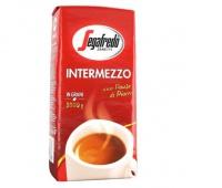 SEGAFREDO INTERMEZZO 1KG.ZIARNISTA, Herbata, kawa, Artykuły spożywcze
