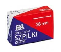 SZPILKI GRAND 28mm 50g /1 OP., Nietypowe, Drobne akcesoria biurowe